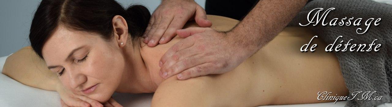 Massage de détente Longueuil